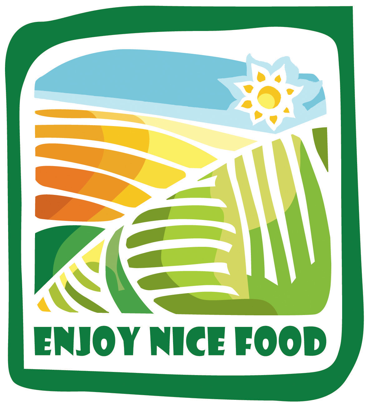 Nice Food Logo RGB